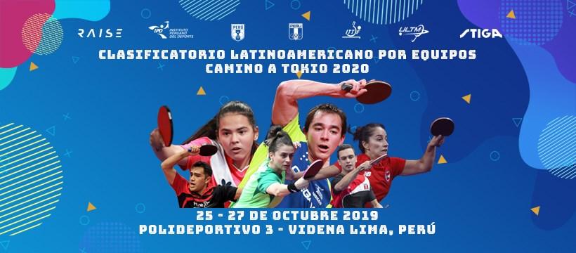 Sorteo Y Horarios Preolímpico Lima 2019 Tenimesistas